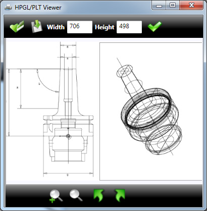 HPGL viewer - Interface